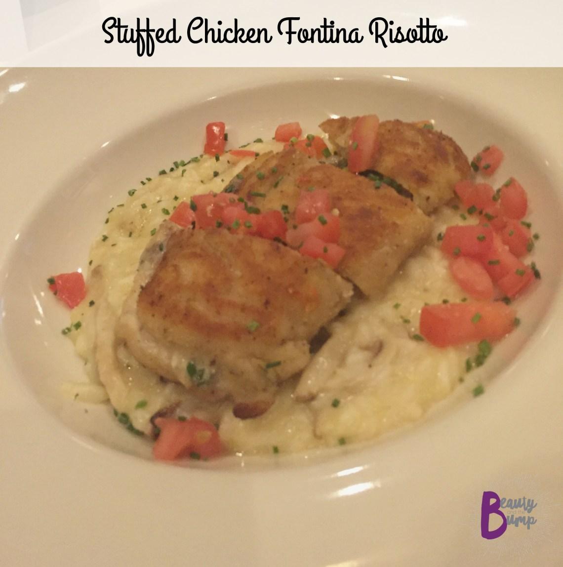 Maggiano's Stuffed Chicken Fontina Risotto