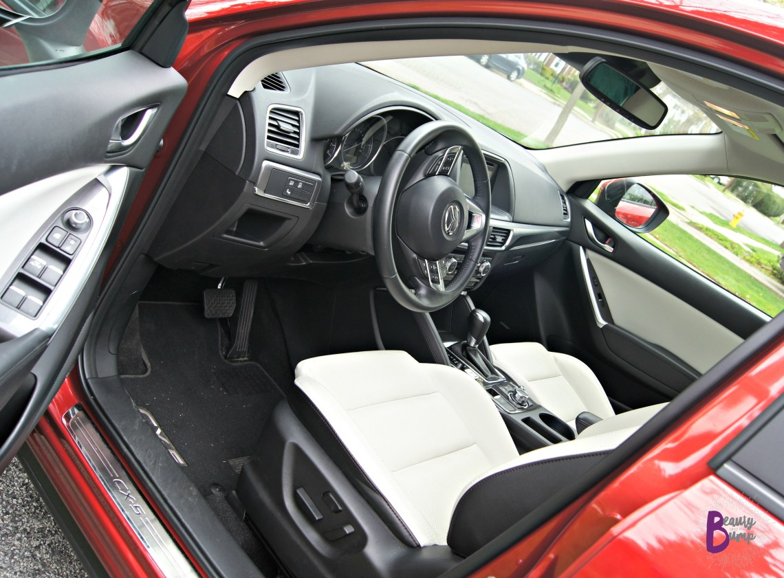 2016 AWD Mazda CX-5 Grand Touring Parchment Leather Seats
