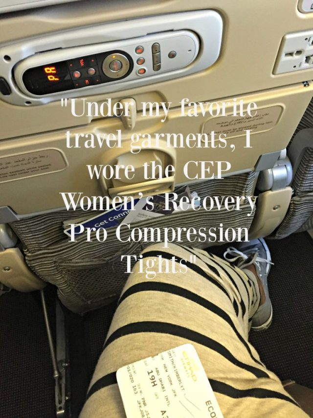 CEP Compression Tights Under Travel Garments