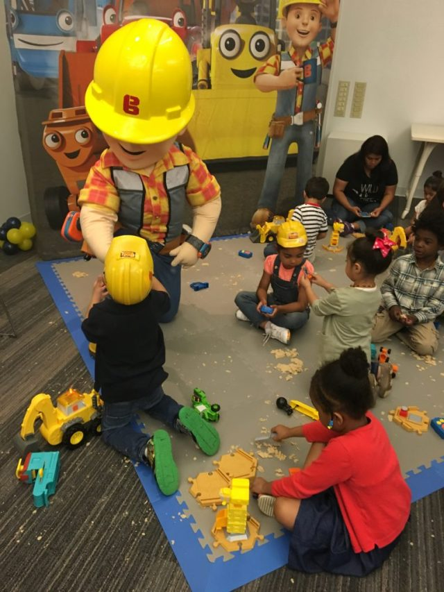 Bob the Builder Playing with Kids