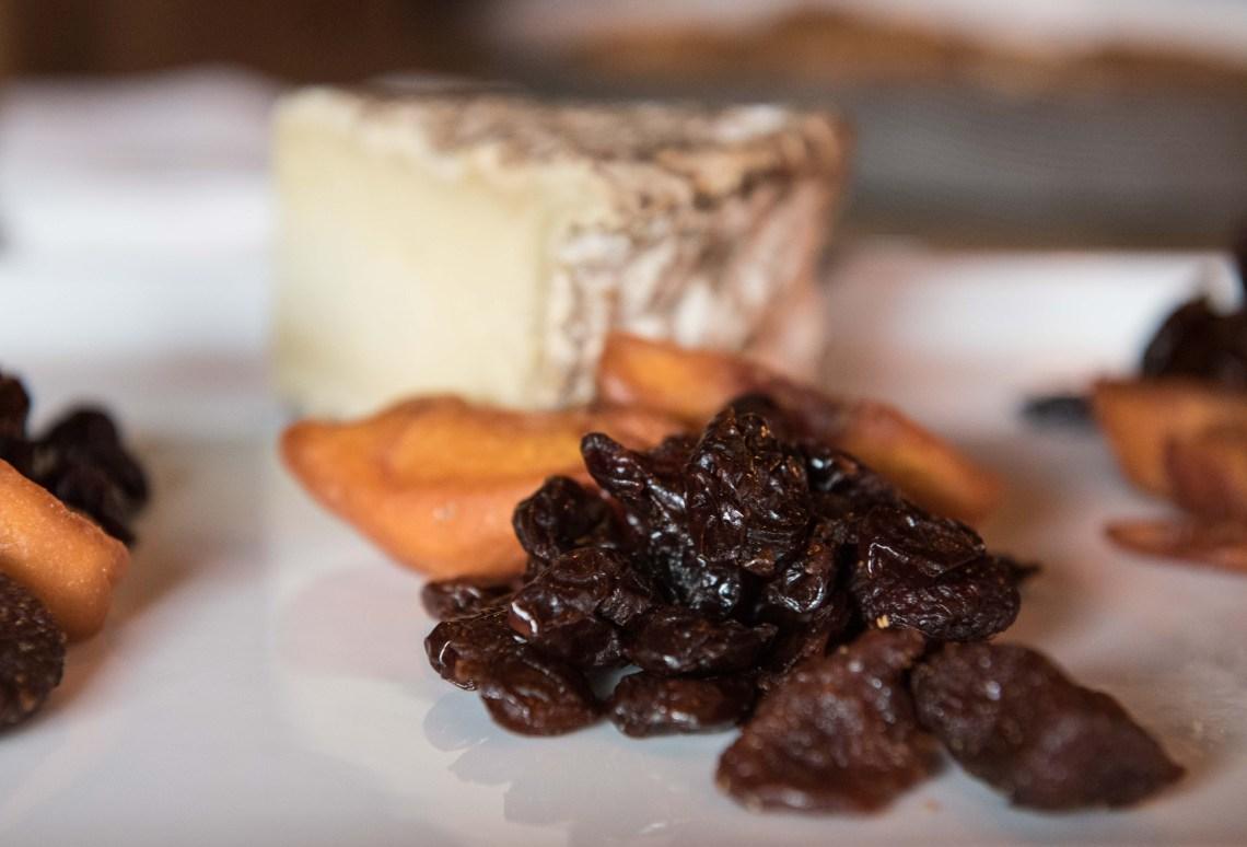 Stoneridge Orchards Montmorency Cherries Cheese plate