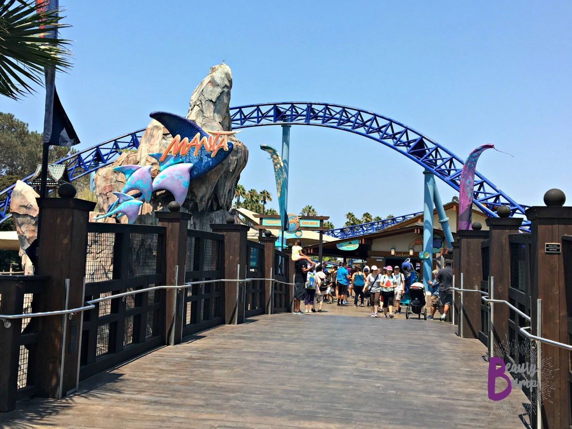 SeaWorld San Diego Manta Rollercoaster