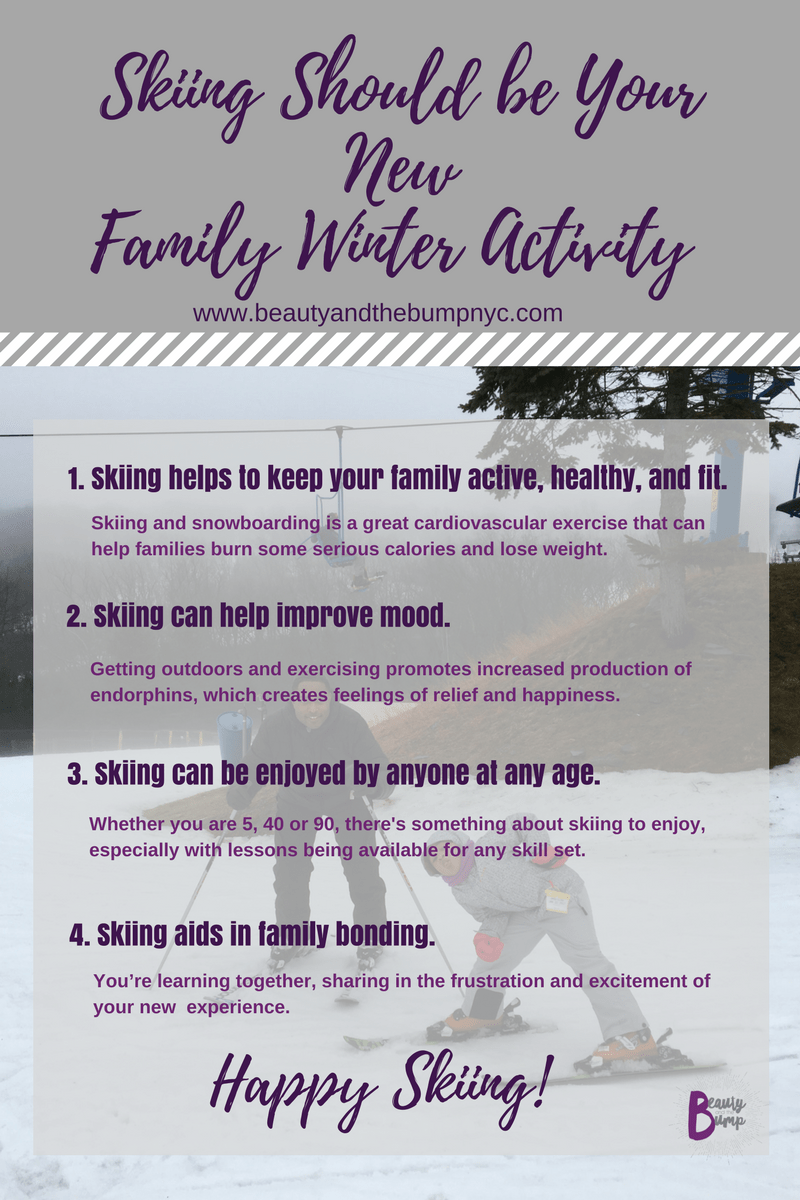 Camelback Mountain and Camelback Resort family winter activity
