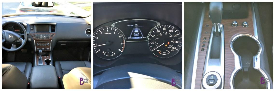 2017 Nissan Pathfinder Interior Gadgets