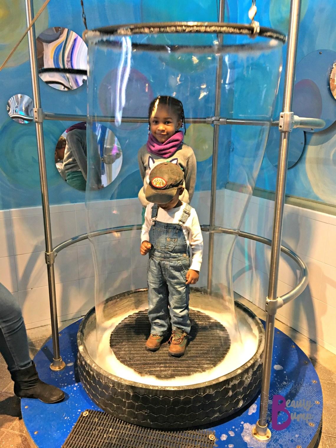 Bubble Exhibit Long Island Children's Museum