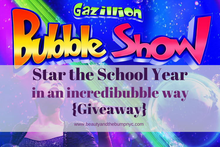 Win Tickets to the Gazilion Bubble Show