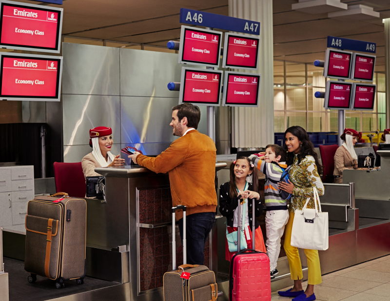 Emirates Airlines FAmily Travel