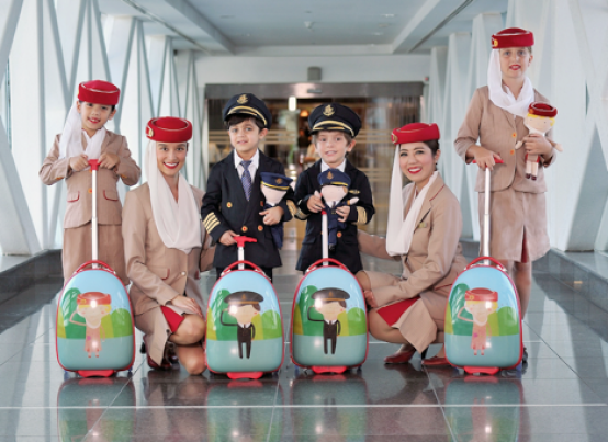 Emirates Airlines Cabin Crew Kids Travel
