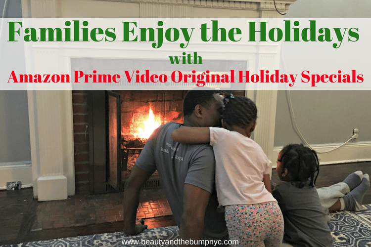 Families Enjoy the Holidays with Amazon Prime Video Original Holiday Specials