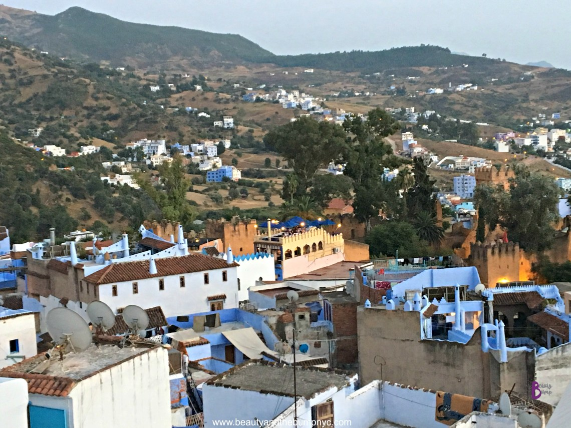 Views of Chefchaouen Rif Mountains from Lina Ryad