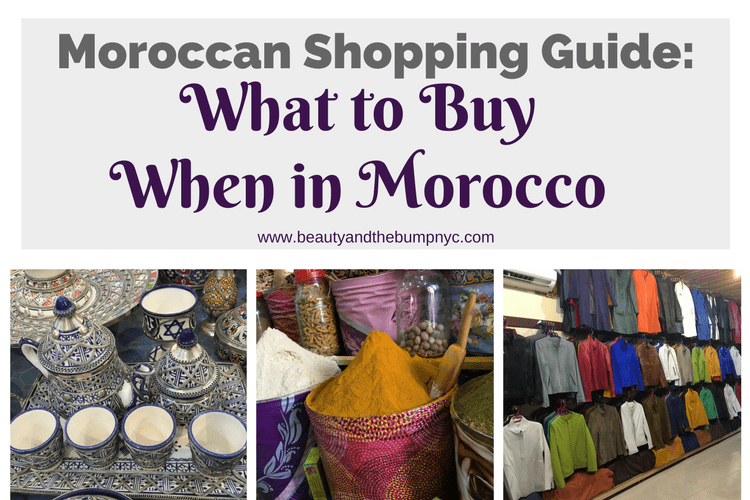 What to buy while in morocco