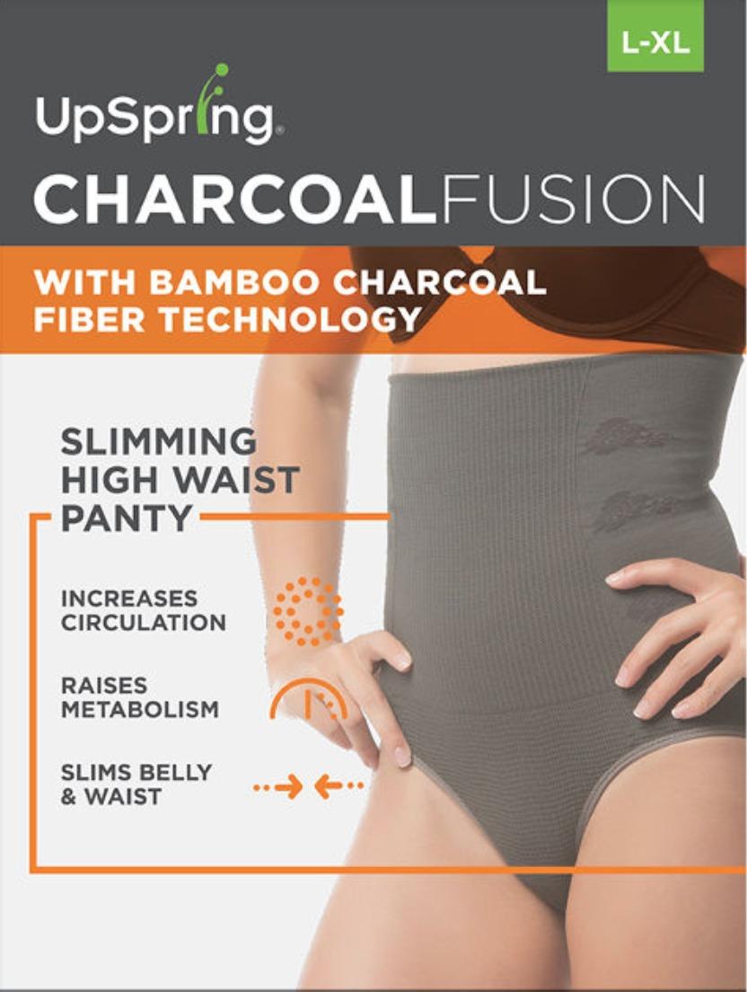 UpSpring Charcoal Fusion Slimming High Waist Panty