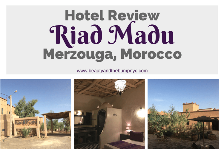 Hotel Review: Riad Madu - A Beautiful Oasis in a Sea of Erg Chebbi Dunes