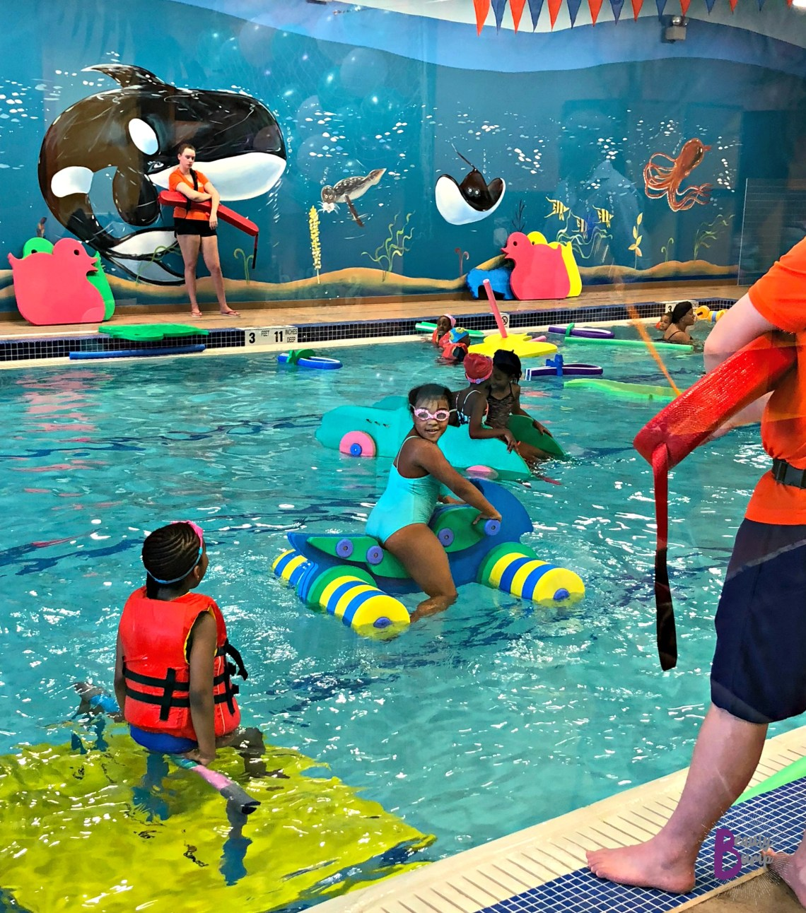Goldfish Swim School Birthday Party