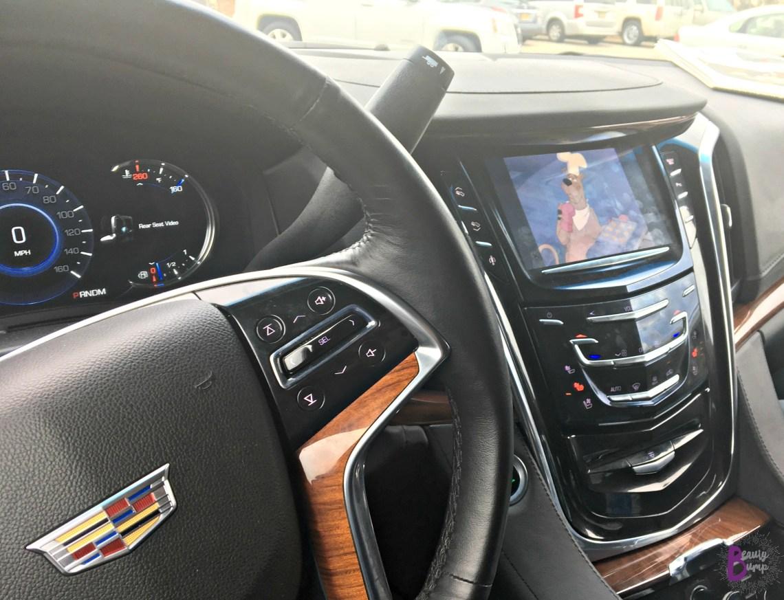 MAVEN Car Sharing Cadillac Escalade Entertainment System