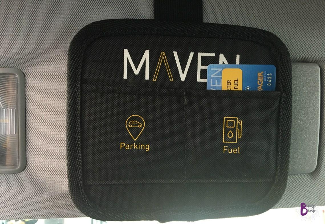MAVEN Car Sharing Gas Card