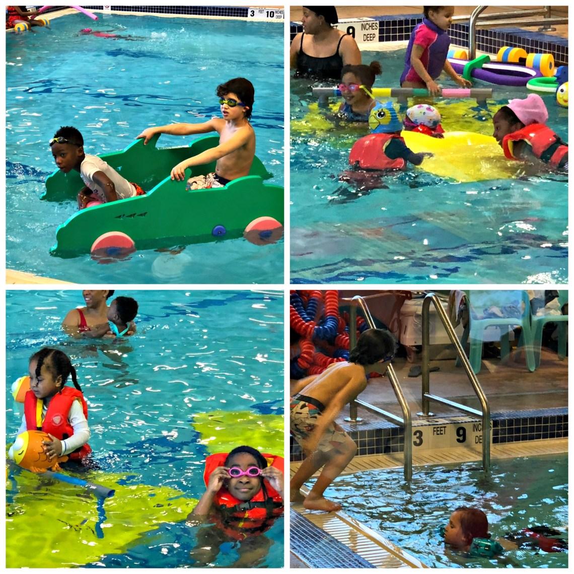 Pool Fun Goldfish Swim School