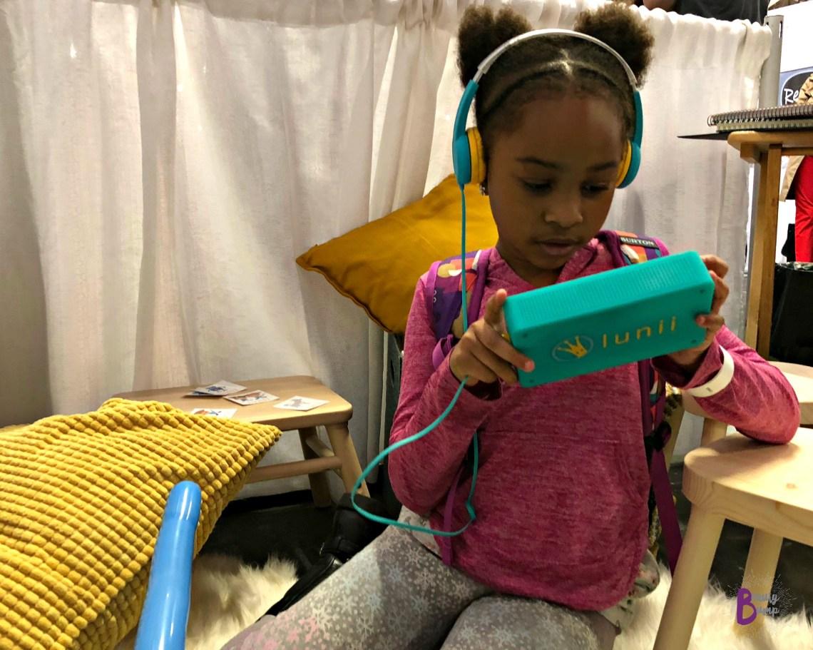 2018 New York Baby Show Lunii My Fabulous Storyteller #NYBSBloggerLounge