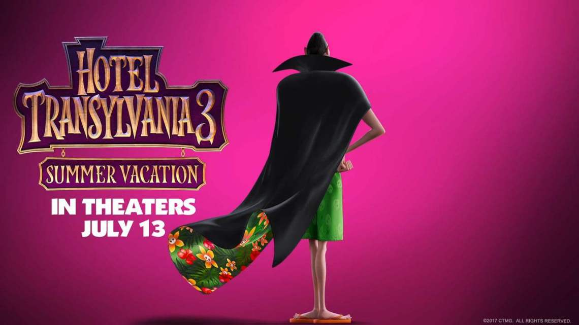 Hotel Transylvania 3 in theaters on July 13, 2018 #HotelT3
