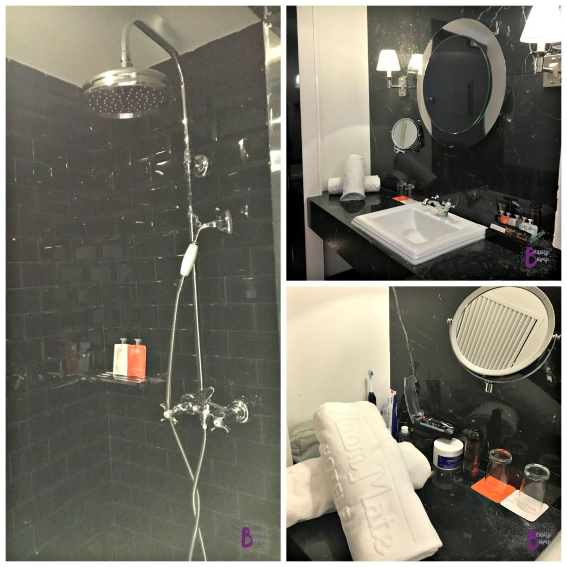 Room Mate Hotel Anna Shower bathroom