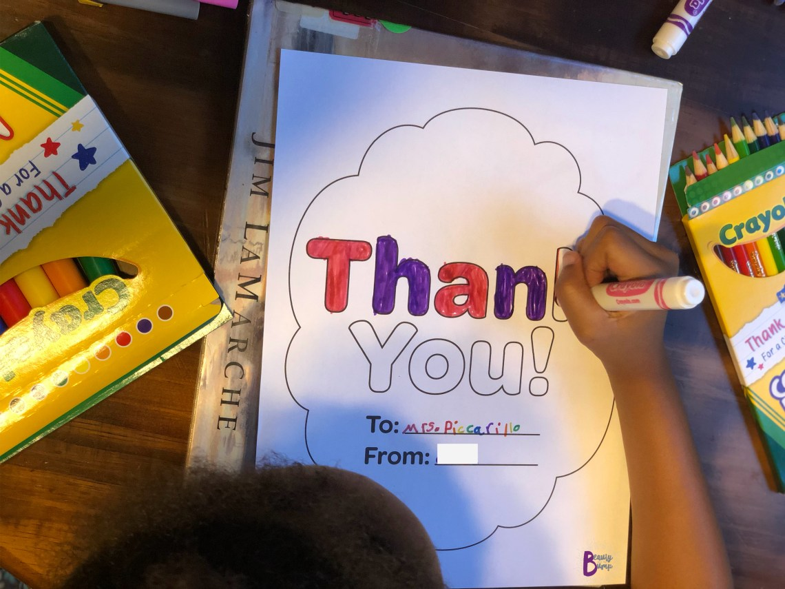 Crayola Thank a Teacher Campaign_BATB Colored Thank you