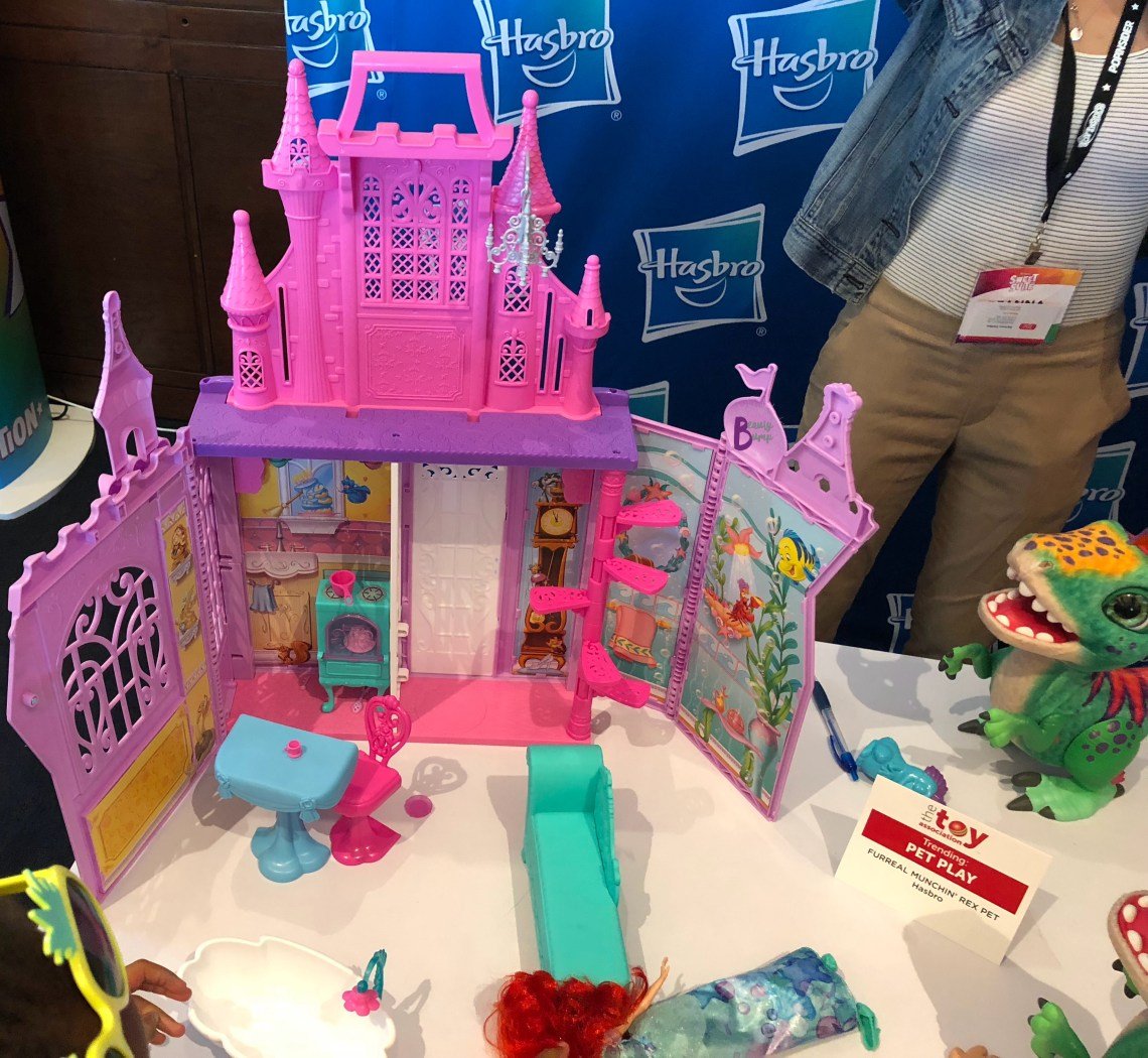 Disney Princess Dollhouse Pop Up Palace Playset