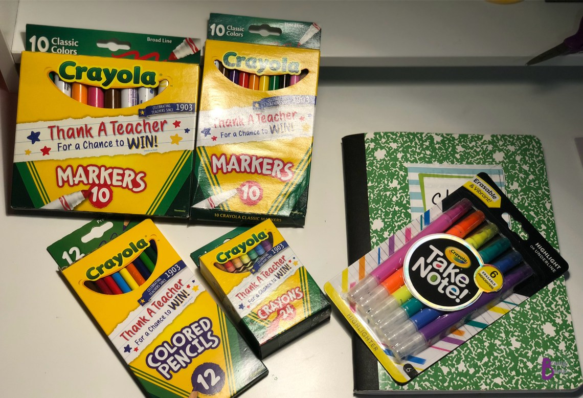 Crayola Back To School Crayola Take Note!
