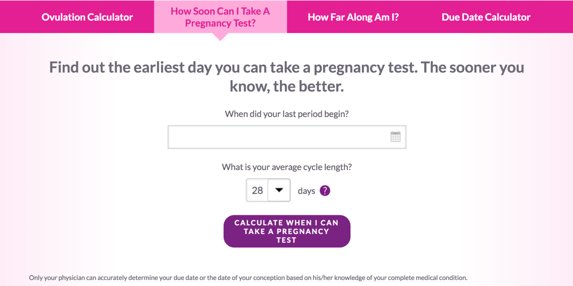 First Response When to Test for Pregnancy