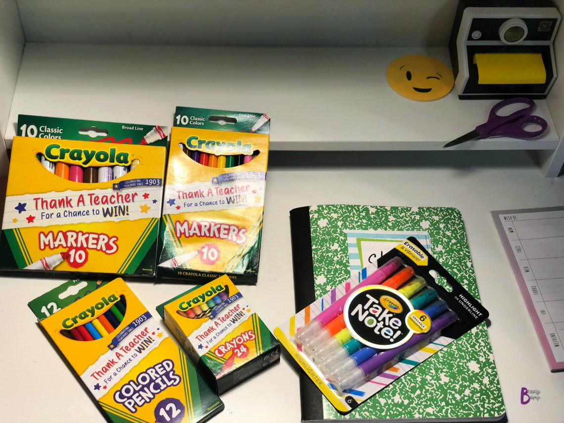 School Supply Crayola Take Note