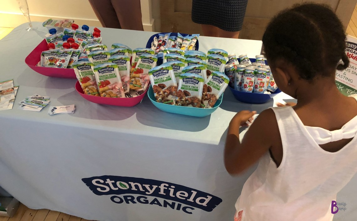 Stonyfield Organic Snack Packs for Back to school Snack