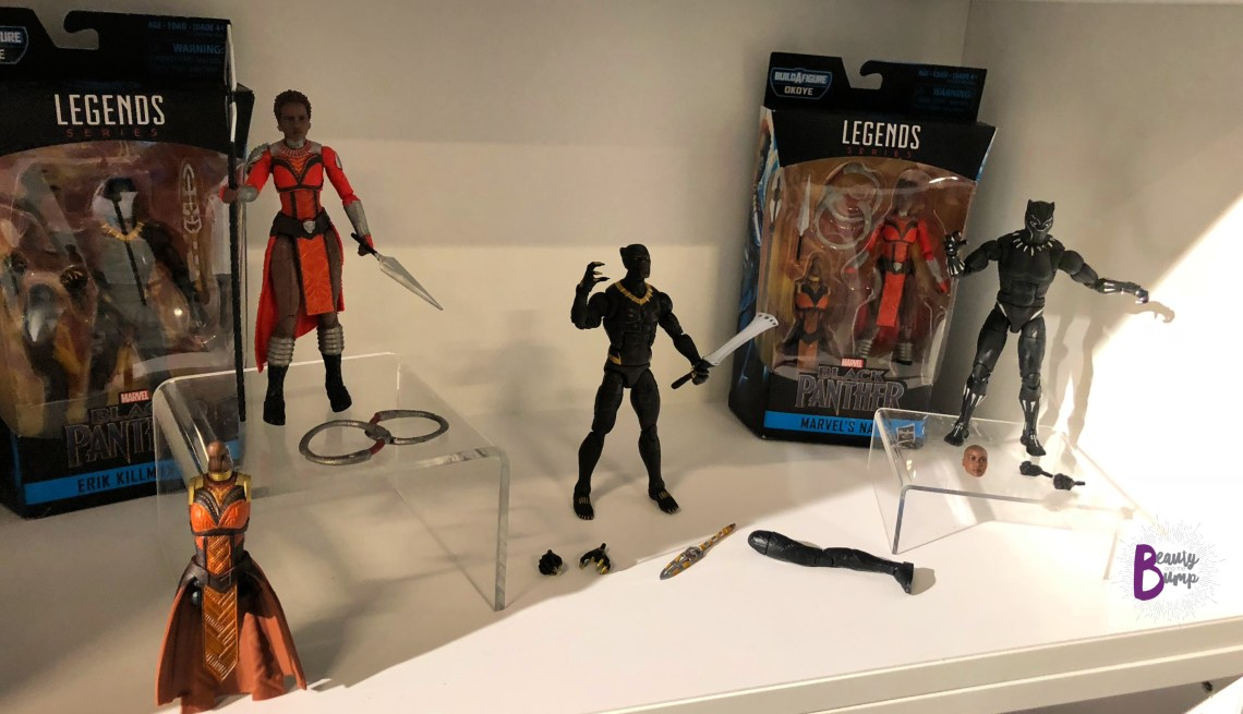 Black Panther Action Figures Hasbro Collectible