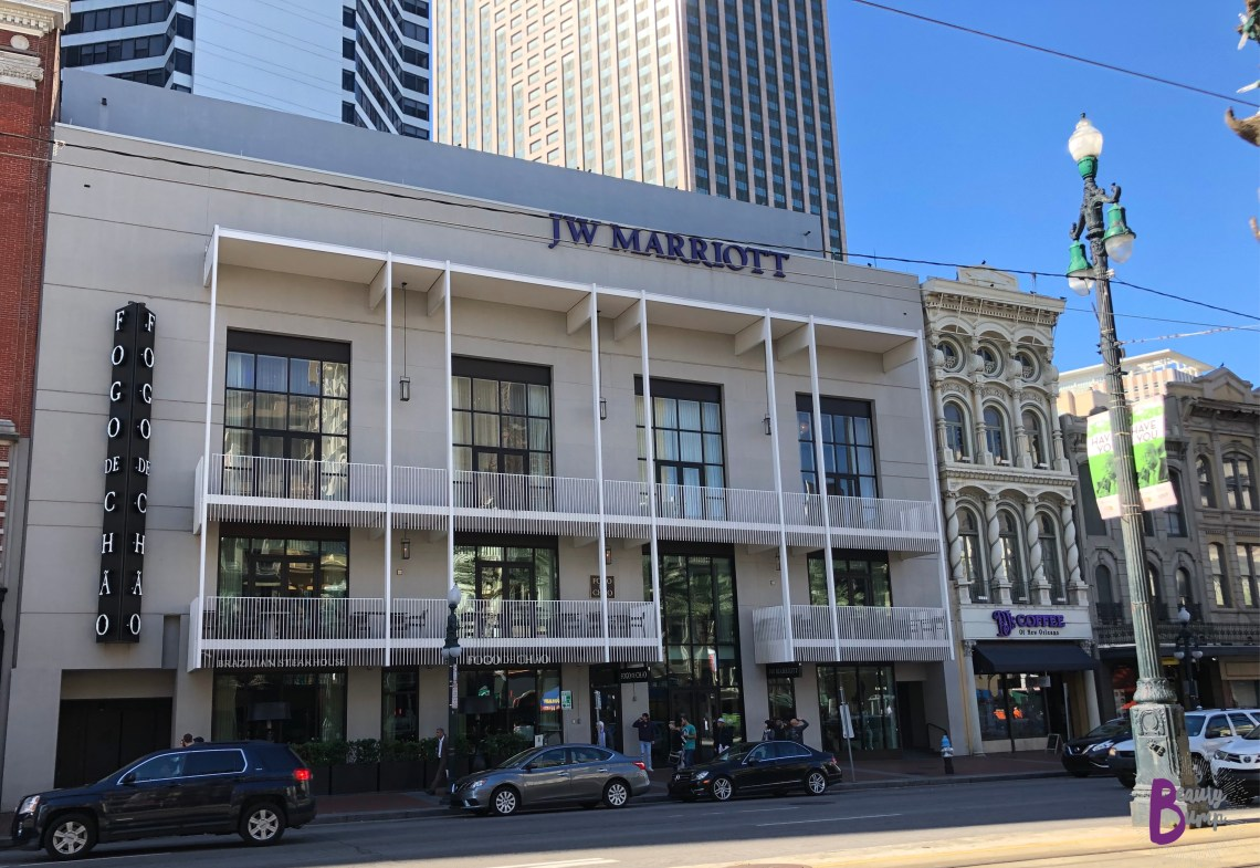 J.W. Marriott New Orleans Canal Street entrance