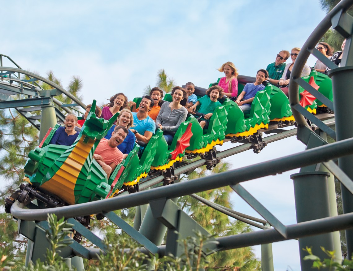 LEGOLAND® New York Resort Dragon Coaster