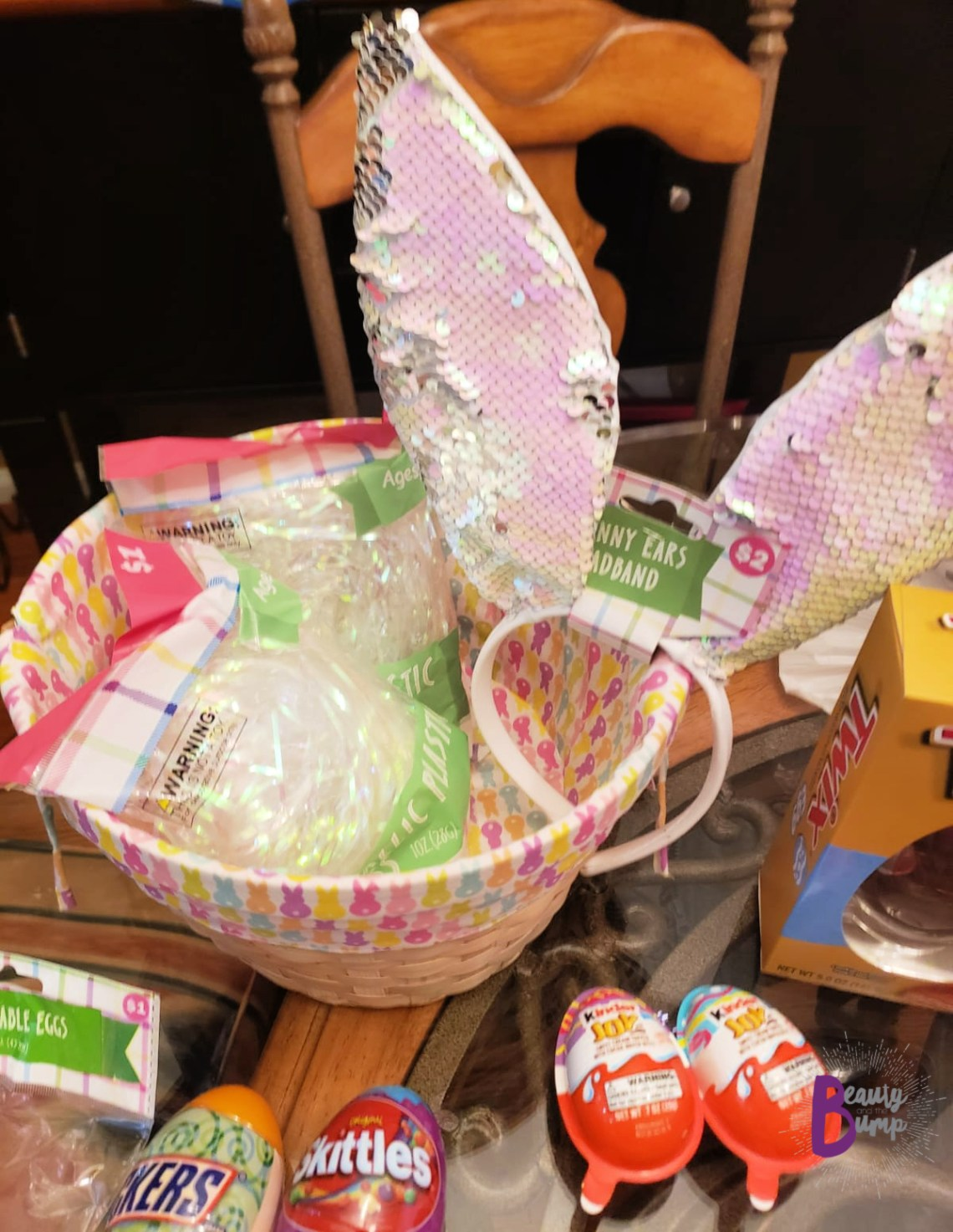 Easter basket 8 year old girl