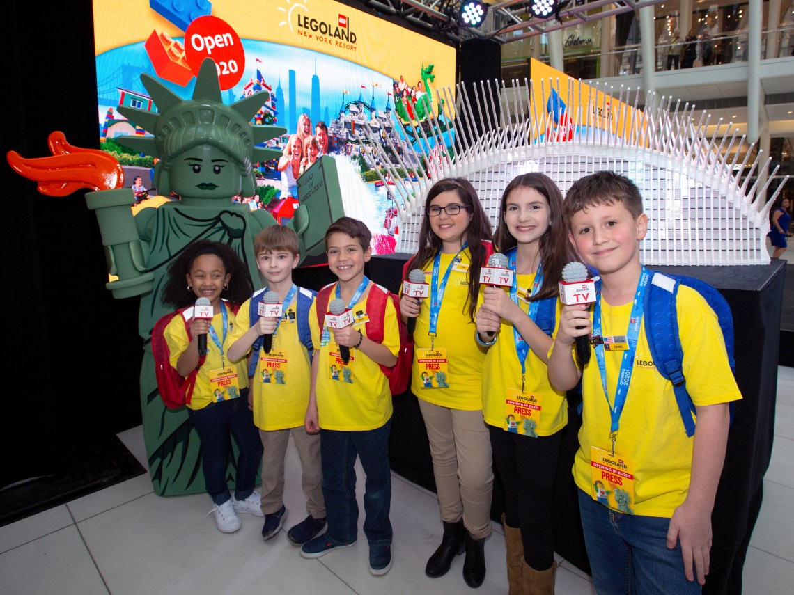 LEGOLAND® New York Resort Kid Reporters