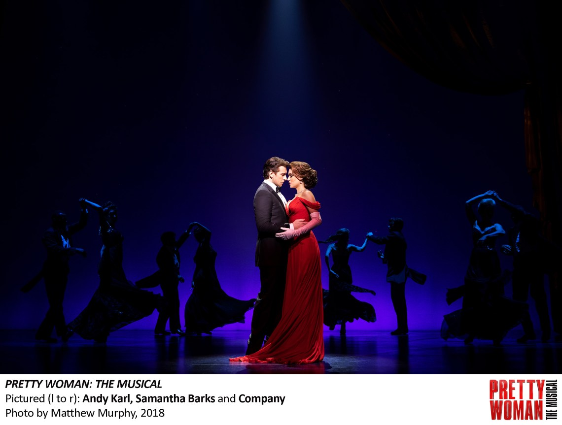 Together, Karl and Barks had amazing chemistry, which made seeing the musical version of the classic a great experience.
