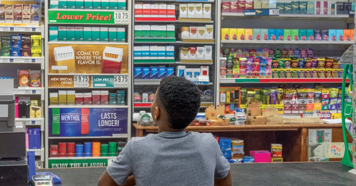 Tobacco companies are spending billions to put their products in front of our kids in stores. #SeenEnoughTobacco