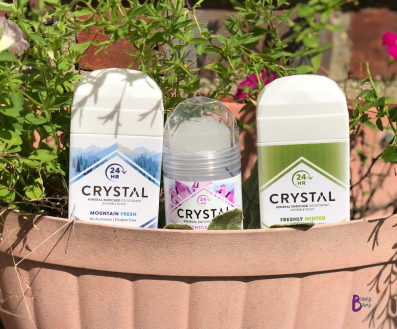CRYSTAL Mineral Deodorants are a great natural alternative to traditional deodorants and work.