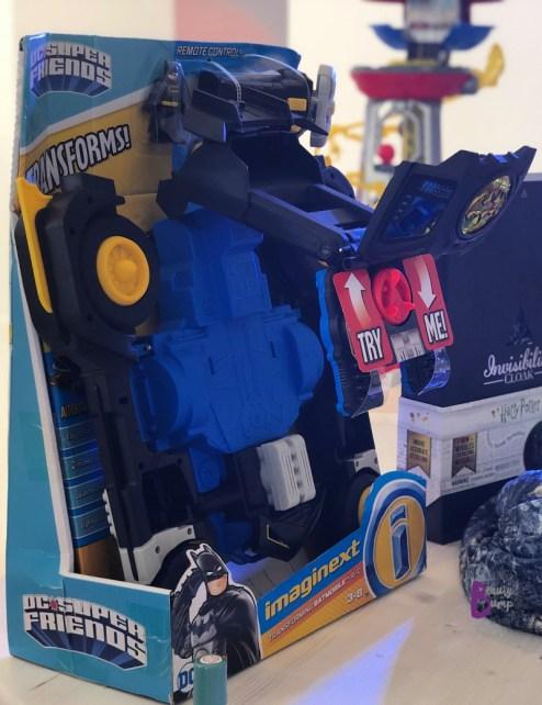 Imaginext DC Super Friends Transforming Batmobile R/C Vehicle
