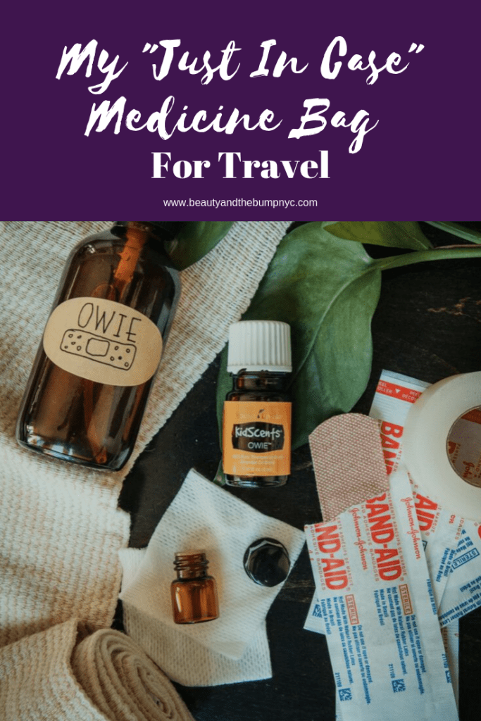 """When traveling, most people think about packing the right outfits, shoes, and toiletries. Then there are people like me who pack a travel medicine bag for those """"just in case"""" moments. Packing the medications you may need, especially when traveling abroad relieves the stress of finding and figuring out what a comparable medication is in a place foreign to you. With these things in mind, below is a list of essentials I pack in my travel medicine bag"""