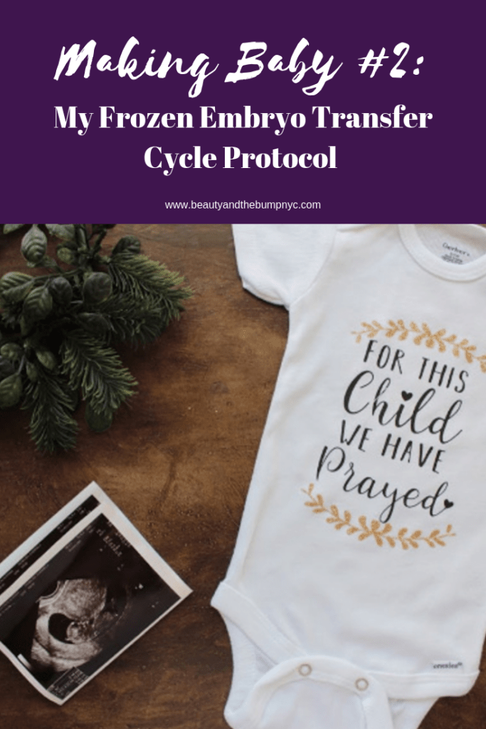 Not all frozen embryo transfer cycles and protocols are the same; however, I am sharing my FET cycle to provide insight into how FET cycles can go.