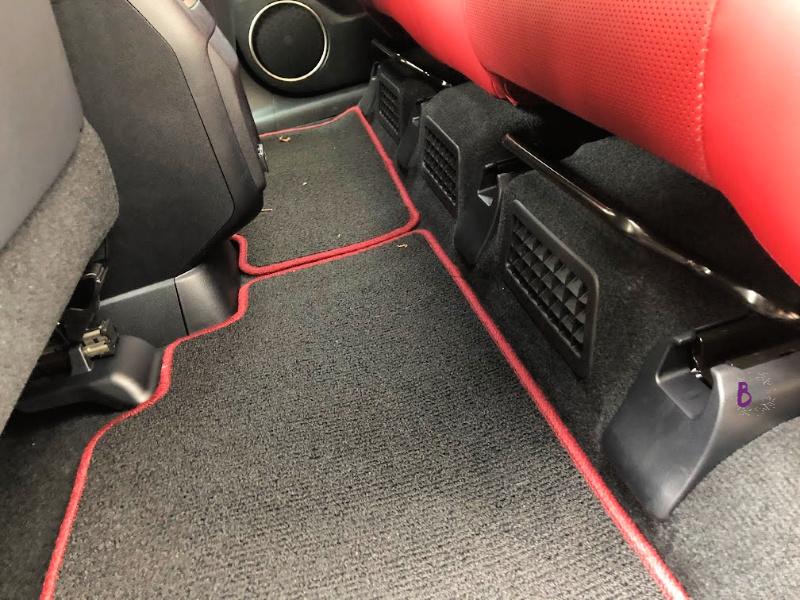 2020 Lexus RX 450h F Sport Rear Seats on Rails