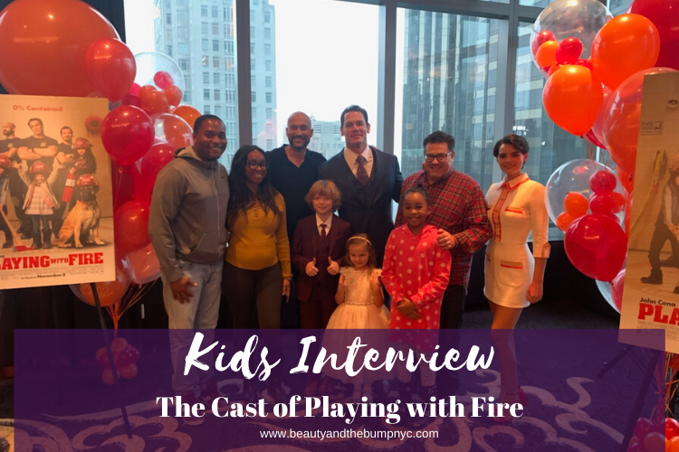 Kids Interview the Cast of Playing with Fire
