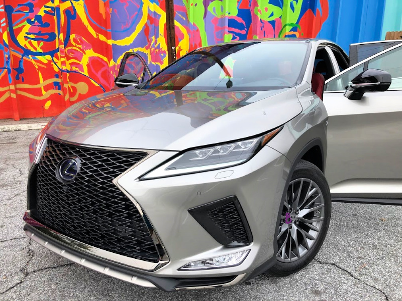 RX 450h F Sport Lights and Grill