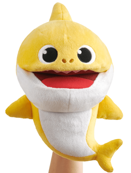 Baby Shark official song puppet with tempo control