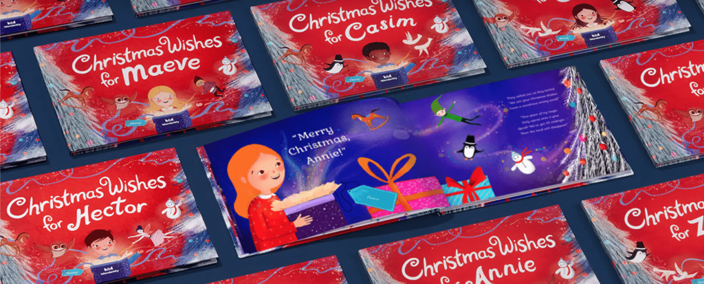 Wonderbly Christmas Wishes Children's Book