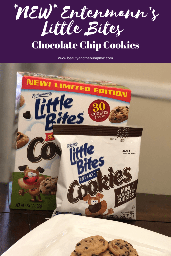 Here's a new snack for kids: Entenmann's Little Bites Chocolate Chip Cookies. I'm giving away a $25 Visa giftcard + $5 off coupons. #LoveLittleBites