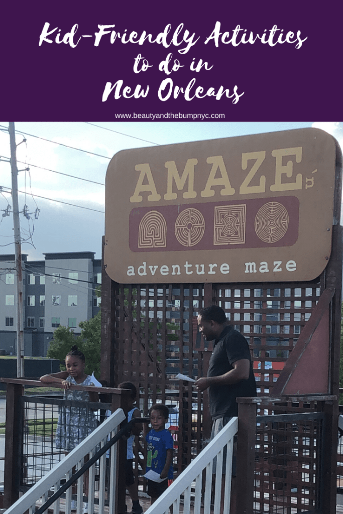 To ensure your kids have fun should your family visit New Orleans here is a list of kid-friendly activities to do in New Orleans. #NOLA #FAMILYTRAVEL #NEWORLEANS