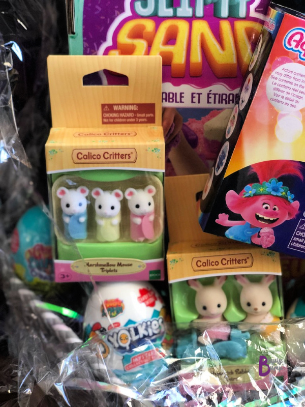 ust in time for Easter, there are new additions to the Calico Village.  My daughter will be excited to see Hopscotch Rabbit Twins ($9.99), Marshmallow Mouse Triplets ($6.88) and the Red Roof Cozy Cottage ($23.99) on Easter Sunday Morning.