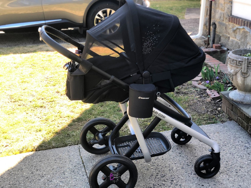 The Maxi- Cosi Lila stroller is a high-end stroller with luxe features to match like the ShapeofYou memory foam inlay, leather-like handles, and more. high-end stroller